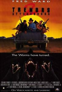 Fred Ward Tremors Movie POSTER 11 x 17 Kevin Bacon A