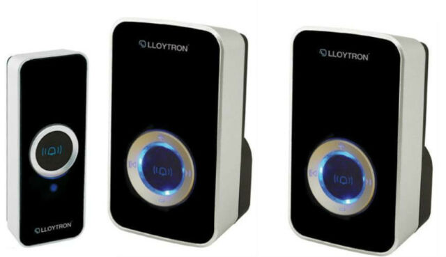 Friedland Courier 241w Instructions.Lloytron Door Bell Mains Plug In Portable Twin Triple Wireless Cordless Chime