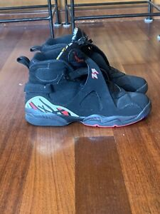 Mens Air Jordan 8's Black And Red Size