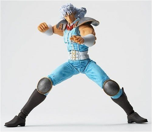 Revoltech Fist of the North Star Revolution No.009 Rei White Hair Ver Figure