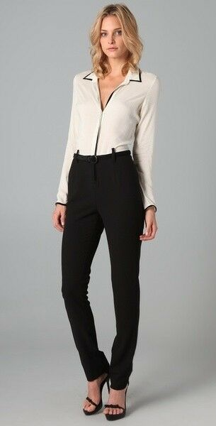 NWT Kova & T Loren Belted Jumpsuit Size 4 Pantsuit Party Outfit Shopbop  462