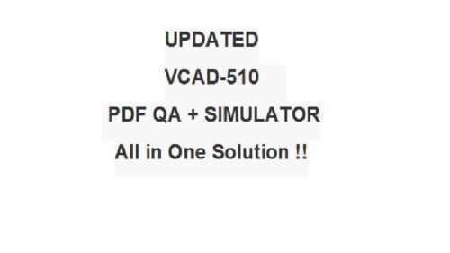 VMware Data Center Virtualization VCA-DCV Test VCAD510 Exam QA PDF/&Simulator