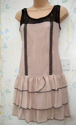 Ladies Patterned Summer Dress Cross Over Strap /& Diamante Sizes 8-14