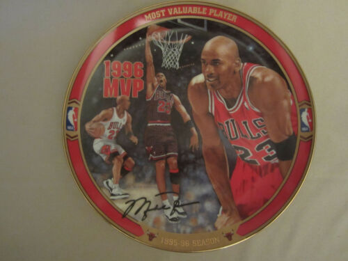 MICHAEL JORDAN MOST VALUABLE PLAYER collector plate RETURN TO GREATNESS #2 NBA