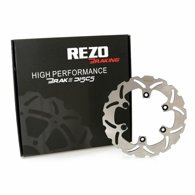 Rezo Wavy Front Brake Disc /& EBC Sintered Pad Kit For Yamaha YZF-R1 98-03