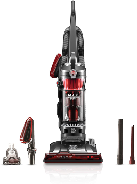 Hoover WindTunnel 3 Red Upright Vacuum Cleaner