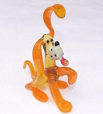 MURANO ART GLASS Lampwork DOG Handmade Puppy Gift Collectible Figurine Figure