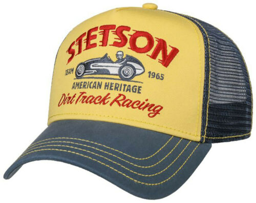 Stetson Trucker Cap Baseball Mesh Snap Cap Dirt Track Racing 29 New Trend