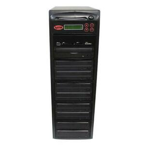 SySTOR 1-8 USB/SD/CF/MS/MMC MultiMedia Backup Copier to CD DVD Duplicator