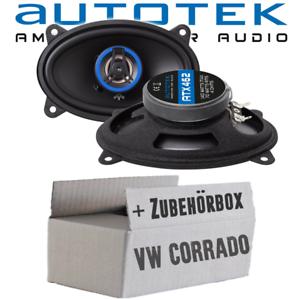 Autotek altavoces para VW Corrado Heck archivador boxeo auto coche car kit de integracion