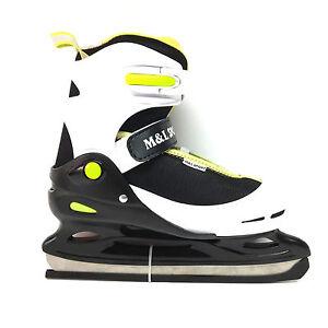 M-amp-L-Sport-Kid-Eislauf-Schlittschuhe-30-33-Groessen-verstellbar-Freizeit-Semisoft