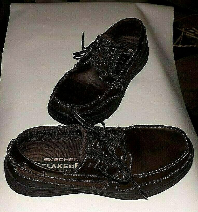 Skechers Relaxed Fit Men's Boat shoes SZ 13 - Memory Foam - Great Condition