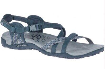 Sandales Chaussures Randonnée Pédestre Femme Merrell Terran Latex II Ardoise | eBay