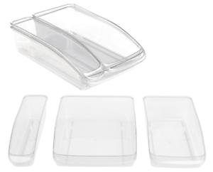 Storage-Holder-Refrigerator-Tidy-Clear-Drinks-Food-Fresh-Placer-Fridge-Organiser