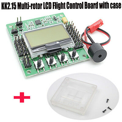 4.8-6.0V KK2.15 Multi-Rotor LCD Flight Control Board With Case 1520us dgs