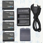 New Gopro AHDBT-401 Battery charger  for Gopro HERO4 Black Silver HD Camera