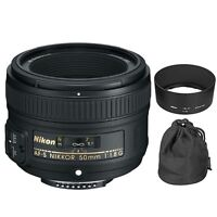 Nikon Af-s Nikkor 50mm F/1.8g Lens For Digital Slr Camera Body