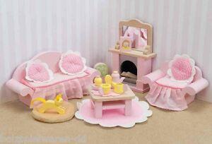 """Le Toy Van ME058 Salotto """" Sitting Camera Set """" 1:12 Per Bambole Legno Nuovo ! #"""