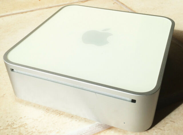 Apple Mac mini 2.1 Intel Core 2 Duo 1.83 Ghz 3 Go RAM 500 Go HDD a1176 très bien
