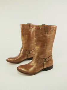 New BORN W12163 Bronze Leather Harness