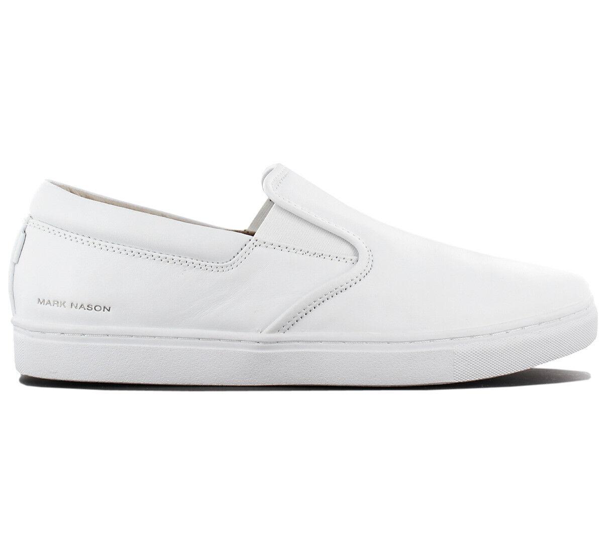 Skechers Mark Nason Los Angeles Schuhe Gower Slip-On Herren Sneaker Schuhe Angeles 68509-WHT 6a5dfd