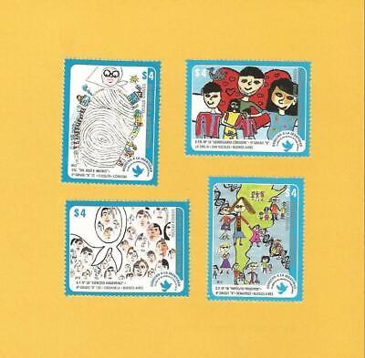 """Argentinien 2013 - Postfrisch**mnht - Minr. 3512-3515 """"kinderzeichungen"""""""