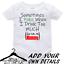 Personalised-Custom-BabyGrow-Vest-Bodysuit-Puke-Just-Like-Auntie-Uncle-Daddy-Mum thumbnail 3