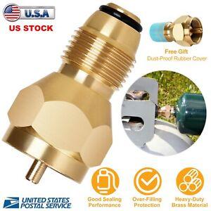 Propane Refill Adapter Lp Gas 1 Lb Cylinder Tank Coupler Heater Bottles