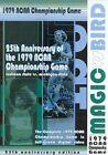 Magic VS Bird The 1979 NCAA Championship Game 25th Anniversary Editi DVD