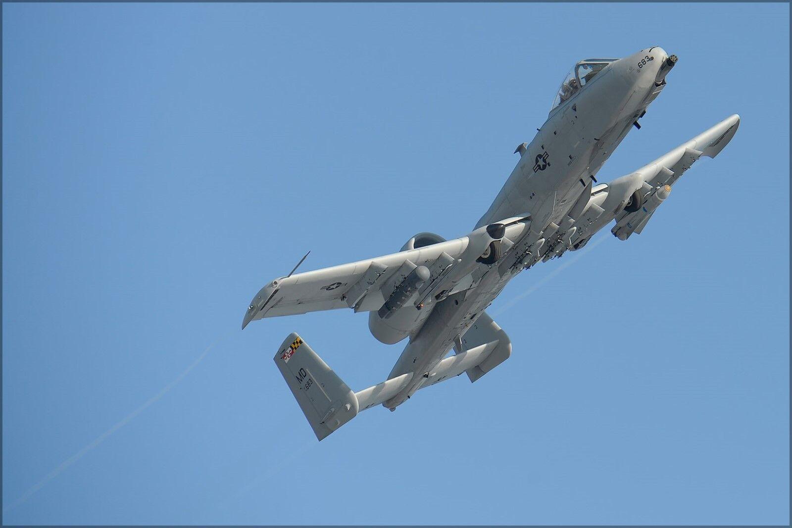 Poster, Molte Warthog Misure; A-10c Thunderbolt II Warthog Molte Maryland Aria National dc0600