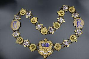 Old-Lodges-Chain-to-1900-30-Freemason-Lodge-N-440