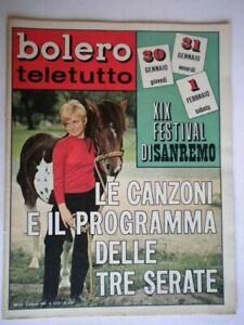Bolero-1136-Zanicchi-Sandrelli-Leali-Cortese-Hoffman-Battisti-Gemma-Gall-Sanremo