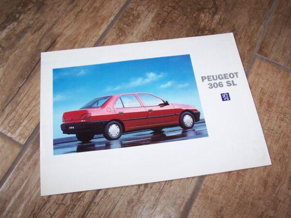 100% Waar Prospectus / Brochure Peugeot 306 Sl 1994 / 1995 // Makkelijk Te Gebruiken