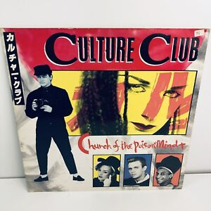 Culture-Club-Church-Of-The-Poison-Mind-12-inch-Single-Vinyl-Record-1983-Nr-Mint