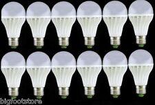 12PCS White bright Light E27 Dimmable 3W LED bulbs 85-265V 300LM End table LIGHT