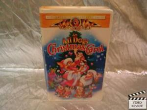 image is loading an all dogs christmas carol vhs large case - All Dogs Christmas Carol