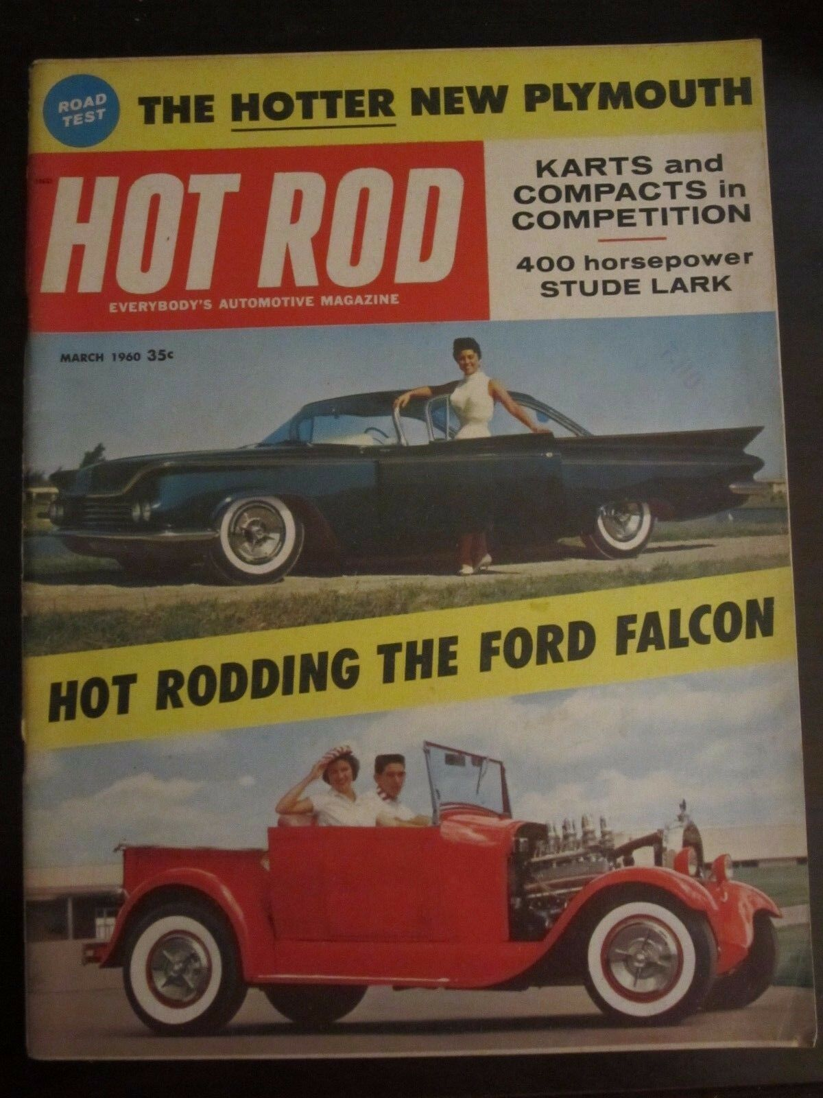 Hot Rod - March, 1960 Back Issue | eBay
