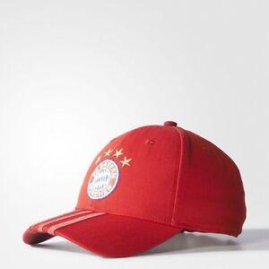 FC-BAYERN-MUNCHEN-3-STRIPES-CAP-FOOTBALL-Running-Fitness-Cap-Hat-Mens-GUYS