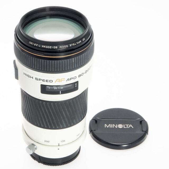 Minolta Sony AF 80-200mm F2.8 APO Autofocus Telephoto Zoom Maxxum Alpha Lens