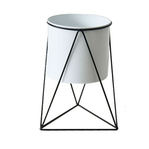 Plant Holder Tripod Flower Pot Decorative Nordic Style Iron Display Stand Home