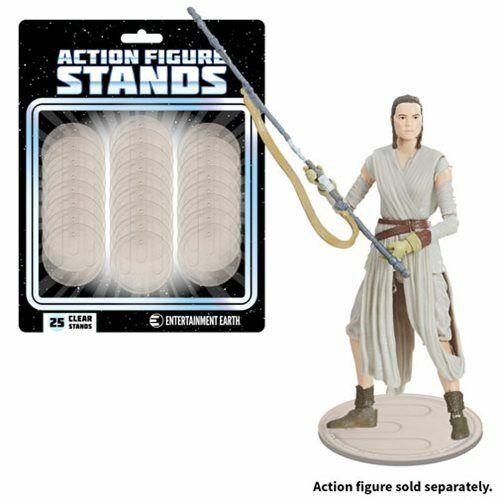 """EE10002 EE Action Figure Stands 25-Pack de 3.75/"""" figurines-clair"""