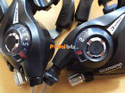 Shimano 3 & 7 Speed Pair EZ Fire Rapidfire MTB Gear Brake Lever Shifters ST-EF51