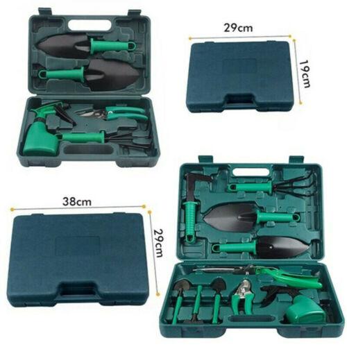 10pcs Gardening Tools Set Gift Garden Hand Tool Kit DIY Non Slip Ergonomic UK