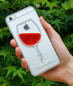 Red-Wine-iPhone-Case-amp-Moving-Liquid-for-7-Plus-7-6-Plus-6-5-5s-BRAND-NEW