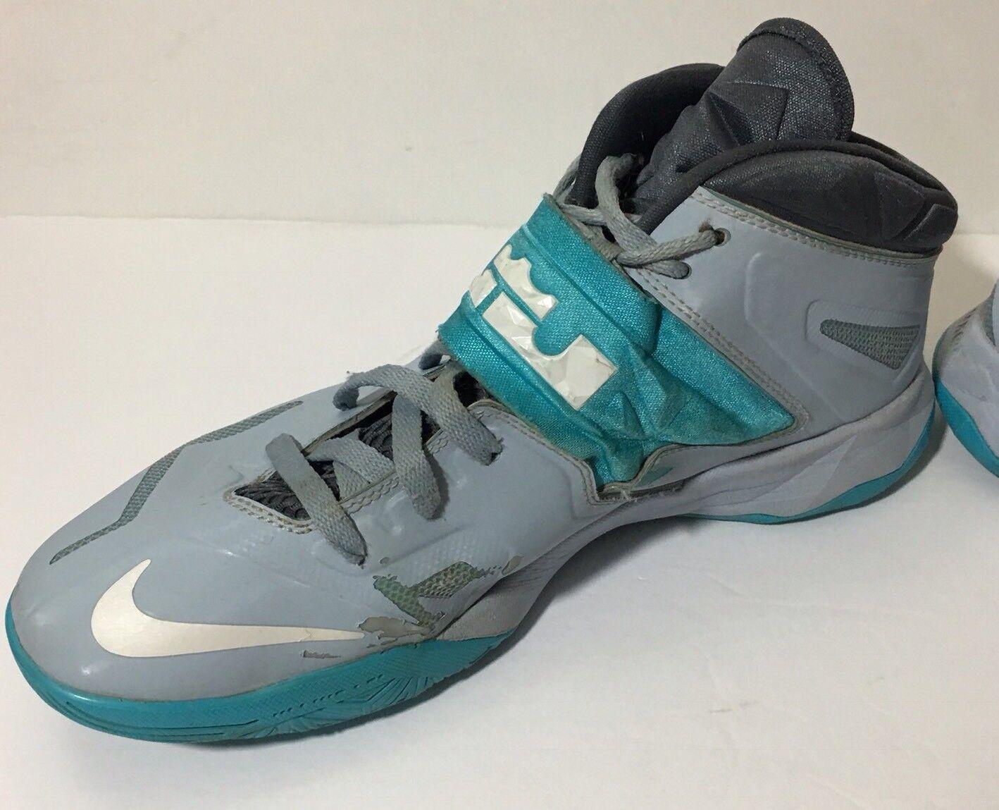lowest price 805b7 76815 ... Nike 13 Lebron Zoom Soldier Sneaker Sneaker Sneaker 7 VII 2013 Light  Armory Blue 599264-