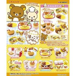 Re-Ment-San-X-Rilakkuma-Fluffy-Meal-Complete-Set