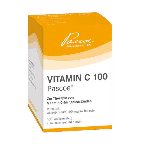 VITAMIN C 100 Pascoe Tabletten 100St PZN 00747041