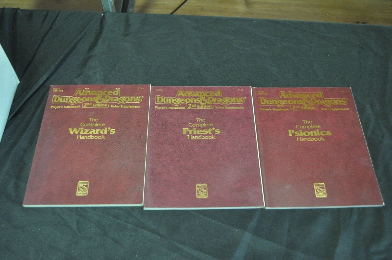 ADVANCED DUNGEONS AND DRAGONS SECOND EDITION HARDCOVER X3 RULES SUPPLESieT PICS