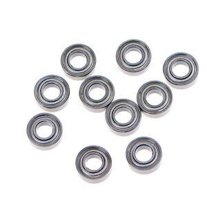 10X MR115ZZ Miniature Metal Shielded Rubber Sealed Bearing Model 5 x 11 x 4mm JD