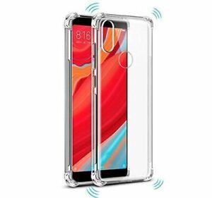 Coque-pour-Xiaomi-Redmi-S2-Gel-Transparent-Anti-choc-Verre-Trempe